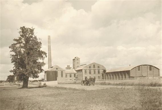 Arvi cukraus nuotr./Marijampolės cukraus fabrikas 1931 m.