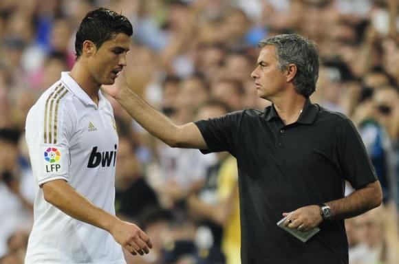 Cristiano Ronaldo ir Jose Mourinho