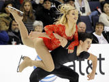 AFP/Scanpix nuotr./Madison Hubbell ir Zachary Donohue