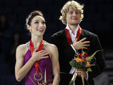 AFP/Scanpix nuotr./Meryl Davis ir Charlie White'as