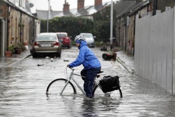 Potvynis Airijoje