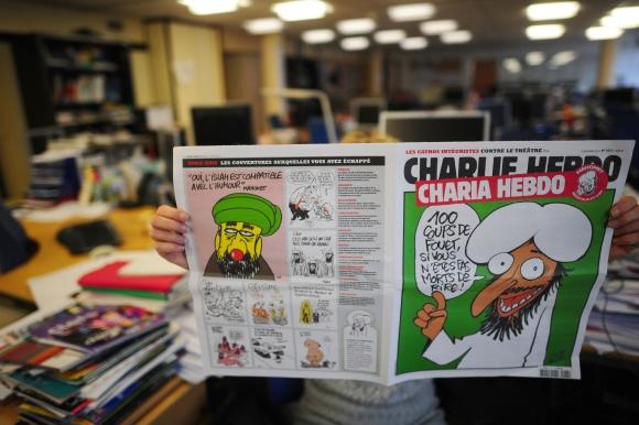 """Charlie Hebdo"" vienam numeriui virto ""Charia Hebdo""."