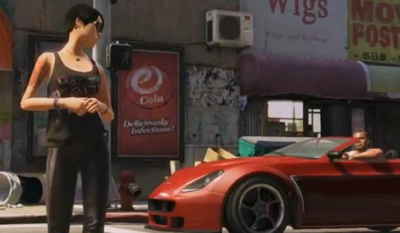 """Žaidimas """"Grand Theft Auto V"""""""