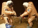 Europos kosmoso agentūros nuotr./Misijos metu buvo imituotas ir iaėjimas į Marso paviraių.