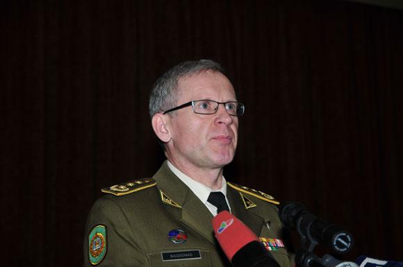 Karo akademijos vadovas Gintaras Bagdonas