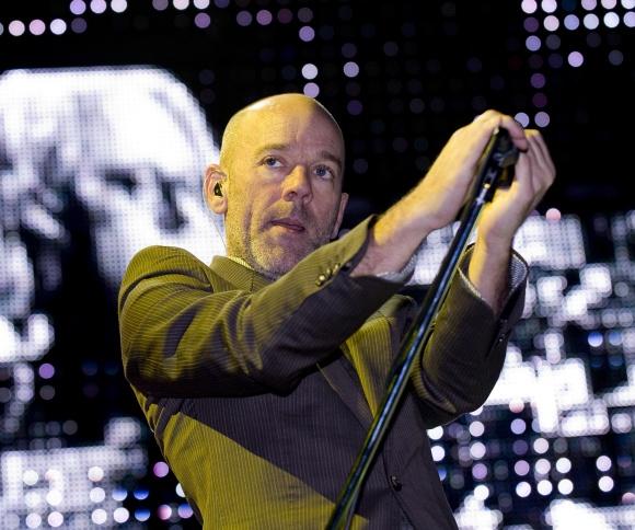 Iširusios grupės R.E.M. vokalistas Michaelas Stipe'as