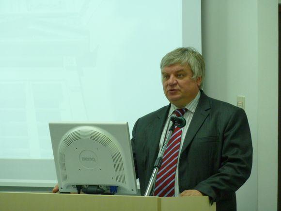Vilniaus universiteto tarptautinių reikalų prorektorius dr. Rimantas Vaitkus.