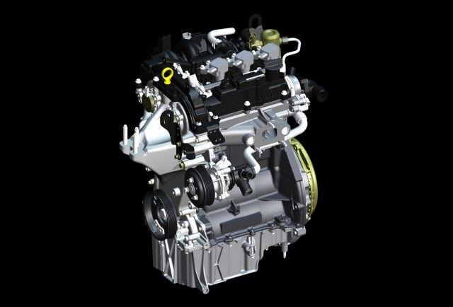 """Naujas """"Ford Ecoboost"""" 1,0 l darbinio tūrio variklis"""
