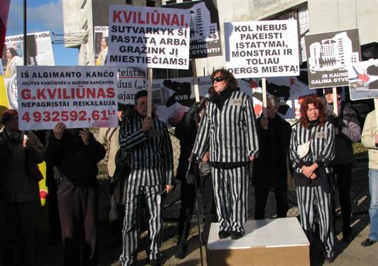 Algimanto Kančo suorganizuota solidarumo akcija