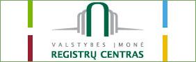 Prašymą išregistruoti įmonę reikia pateikti valstybės įmonei Registrų centras.