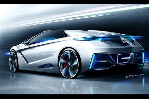 Gamintojo nuotr./Honda nedidelis sportinis elektromobilis