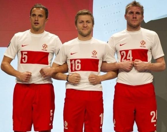 Naujoji Lenkijos futbolo rinktinės apranga