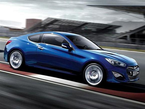 Atnaujintas Hyundai Genesis Coupe