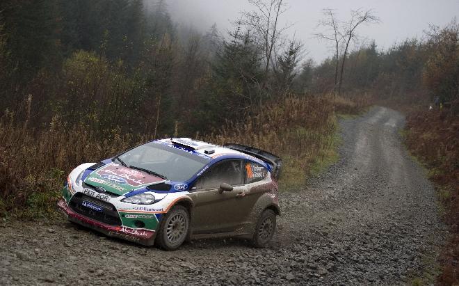 "Jevgenijus Novikovas, ""Ford Fiesta RS WRC"""