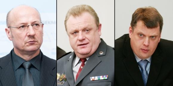 Visvaldas Račkauskas, Algirdas Stončaitis ir Tomas Ulpis