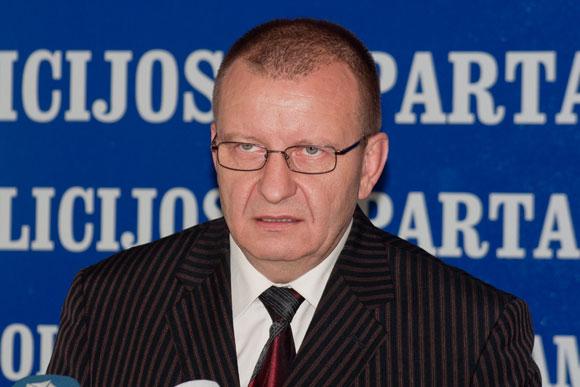 Kriminalinės policijos vadovas Algirdas Matonis