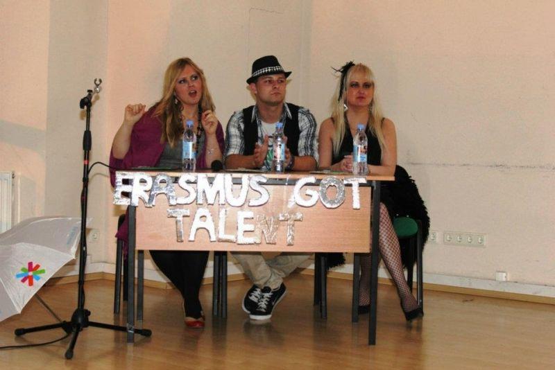 Neeilinis talentų šou – Erasmus Got Talent.