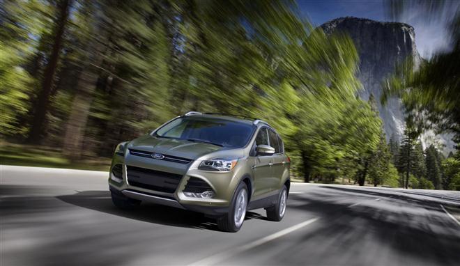 """Naujasis """"Ford Kuga"""""""