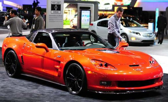 AFP/Scanpix nuotr./Chevrolet Corvette ZR1