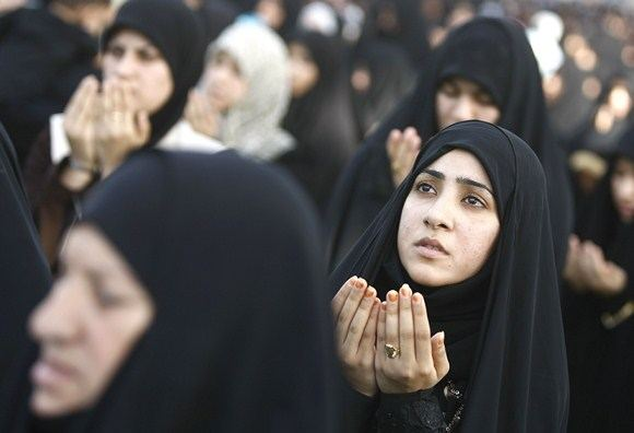 Scanpix nuotr./Irako moterys