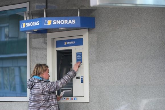"""Banko """"Snoras"""" bankomatas"""