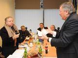 Algimanto Brazaičio nuotr./Jeanas Todas apsilankė Lietuvos automobilininkų sąjungoje