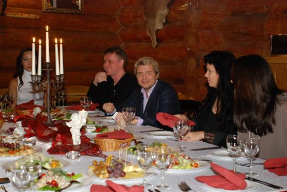 Nikolajaus Baskovo vakarienė Kaune