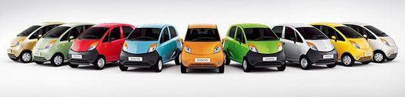 Gamintojo nuotr./Atnaujintas Tata Nano