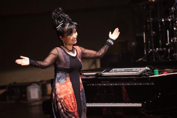 Tomo Lukaio/BFL nuotr./Pianistė Keiko Matsui Vilniuje pristatė naują savo albumą