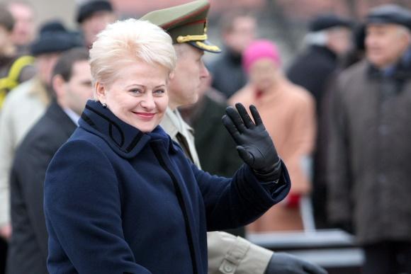 Lietuvos prezidentė Dalia Grybauskaitė ir Arvydas Pocius