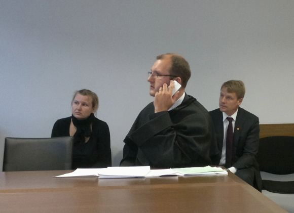 Sauliaus Chadasevičiaus/15min.lt nuotr./M.Jovaiaai teisme atstovavo advokatas, tuo tarpu nukentėjusioji Diana S. samdytis teisininko sakė nematanti prasmės.