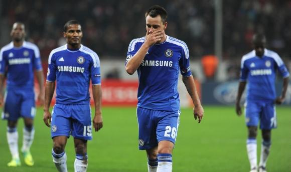 """""""Chelsea"""" futbolininkai"""