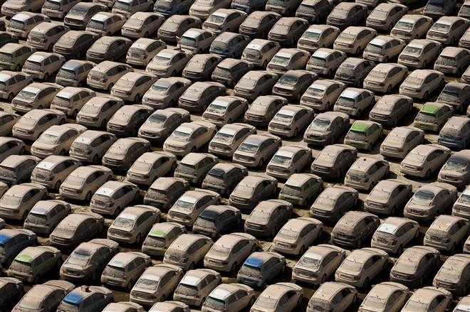 """""""Honda"""" gamykla atslūgus potvyniui Tailande"""