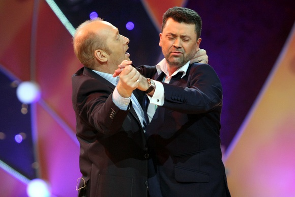 Jurijus Smoriginas ir Vytautas Šapranauskas
