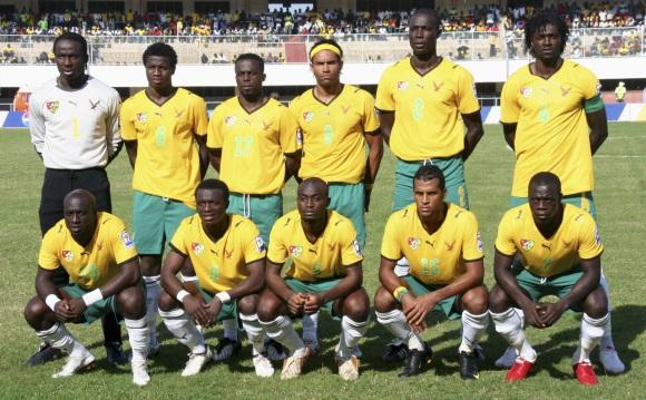 Togo rinktinė 2010 metais