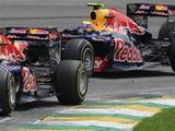 "AFP/""Scanpix"" nuotr./Brazilijos GP lenktynių akimirka"