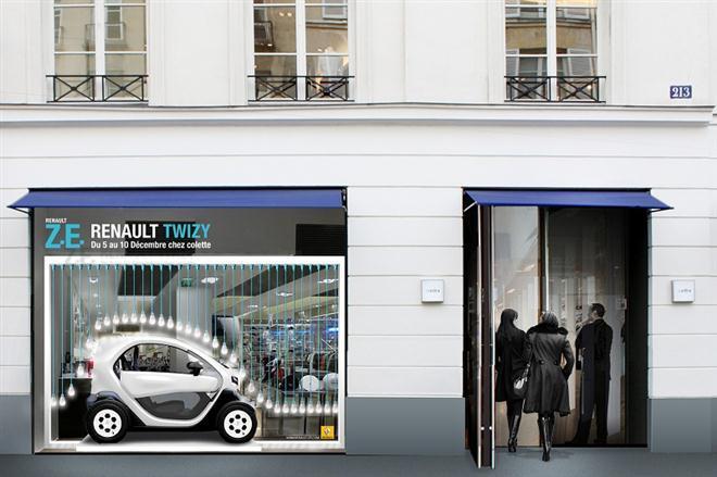 """""""Renault Twizy"""" įelektrins """"colette"""""""