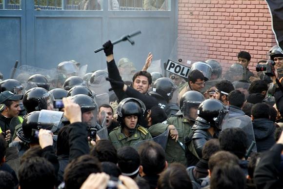 Protestas Teherane