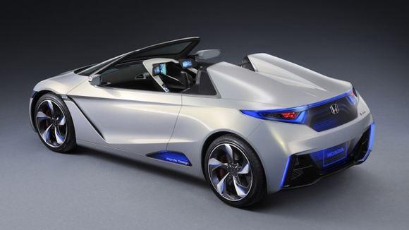 Gamintojo nuotr./Honda EV-STER konceptas