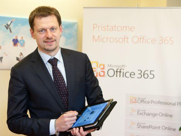 """Martynas Bieliūnas pristato """"Office 365"""""""