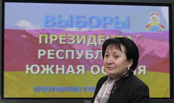 Opozicijos kandidatė į Pietų Osetijos prezidentus Ala Džiojeva