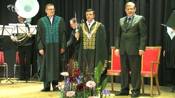 KTU rektoriaus P. Baršausko inauguracija.