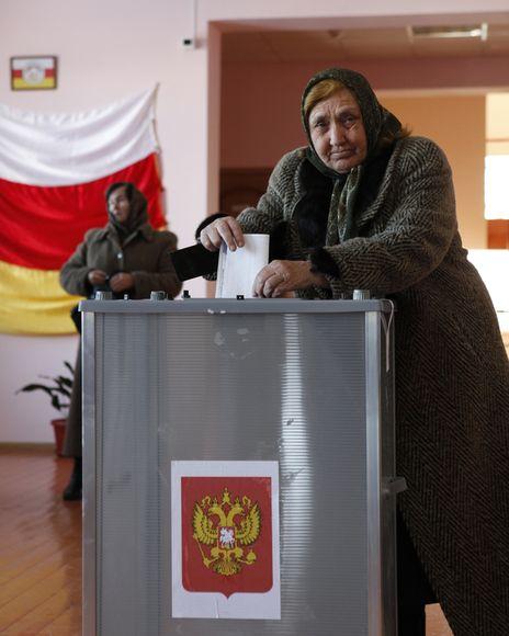 Rinkimų akimirka