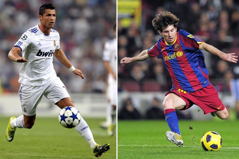 Cristiano Ronaldo ir Leonelis Messi