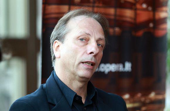 Baleto trupės meno vadovas Krzysztofas Pastoras.