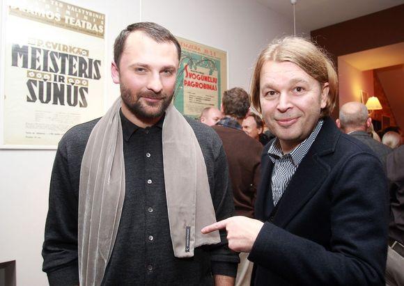 Mantas Petruškevičius ir Kęstutis Verslovas