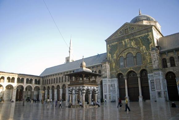123rf.com nuotr./Damasko Umayyad mečetė