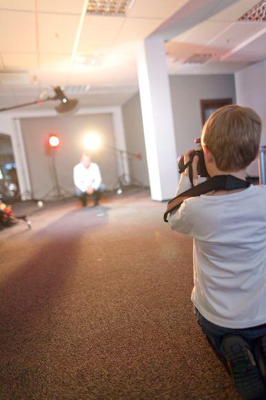 Fotografai džiugins kauniečius nemokamais portretais