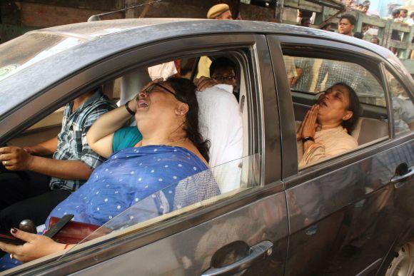 Tragedija Indijos AMRI ligoninėje