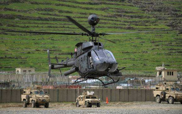 Sraigtasparnis OH-58 Kiowa